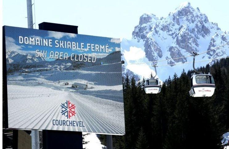 Coronavirus : toutes les stations de ski de France fermées