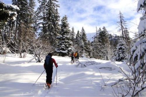 Week-end randonnée à ski à Serre-Chevalier 13/14 Mars 2021